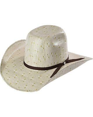 RSHOPC-8342GN Hooey by Resistol Men/'s Natural Pecos Straw Cowboy Hat