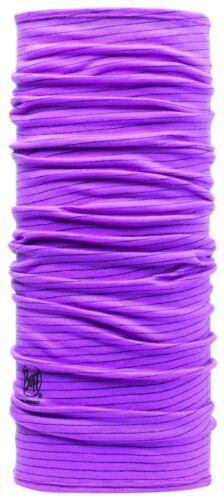 Buff wool en 100/% premium Merino Laine Chiffon Multifunktionstuch solid unicolore