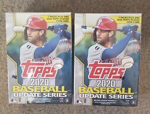 2020 Topps Baseball Update Series Blaster Box LOT OF 2 BOXES