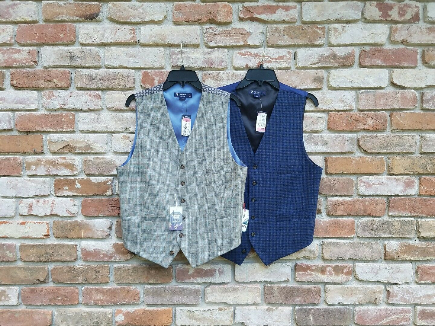 New  CREMIEUX medium [M] suit vest separates dapper accessories