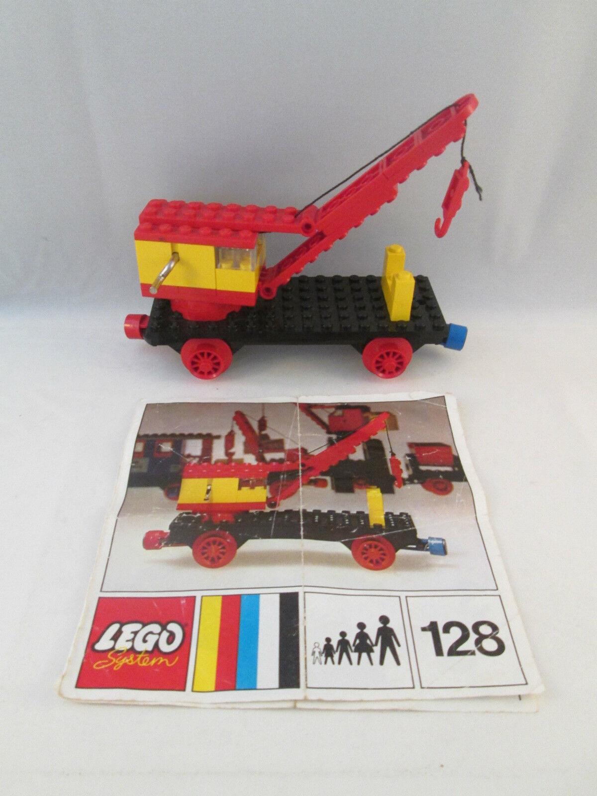 Lego Train 4.5V - 128 Mobile Mobile Mobile Crane (Train Base) e67bfc