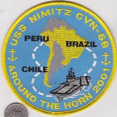 CVN-68 USSS Nimitz Westpac 2003 Patch