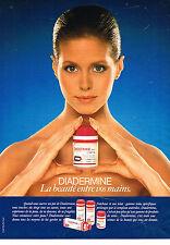 PUBLICITE ADVERTISING 064  1982  DIADERMINE   cosmétiques