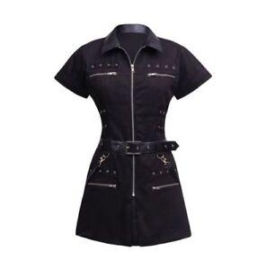 Women-Black-Steampunk-Elysa-Gothic-Tunic-Jacket
