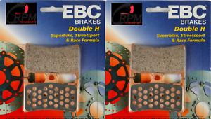 EBC HH Front Brake Pads Yamaha 99 2000 01 02 03 04 R6 06 07 08 09 R6S FA252HH
