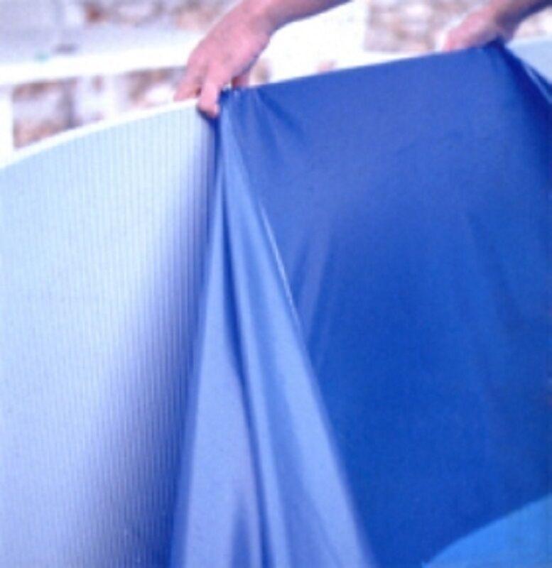 Innenfolie oval für Pool Poolfolie 5,49 x 3,66 x 1,35m Folie Ersatzfolie 0,60 mm