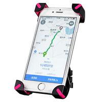 Rockbros Smart Phone Bracket Gps Universal Adjustable Bicycle Phone Holder Pink