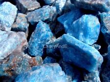 APATITE Rock Rough - 2 1/2 LB Lot - Good Color Gemstones - FREE SHIPPING