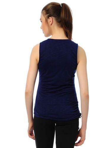 Nouveau Reebok Débardeur T-shirt sans manches mesdames Femme Filles Gym Entraînement Fitness