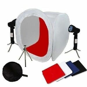 "16"" Photo Photography Tent Shooting Box Softbox Studio Kit Set with FY"