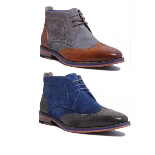 Justin Reece Harris Mens Brown Leather Matt Sho