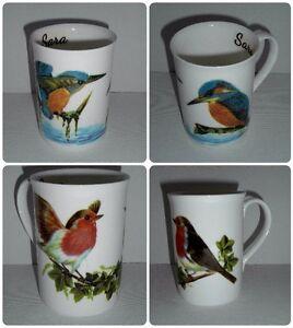 BN-Personalised-Fine-Bone-China-Boxed-Robin-or-Kingfisher-Mug-Bird-Gift-Mug