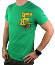 BRAND NEW ED HARDY CHRISTIAN AUDIGIER MEN'S SHIRT T-SHIRT GREEN TIGER SIZE S
