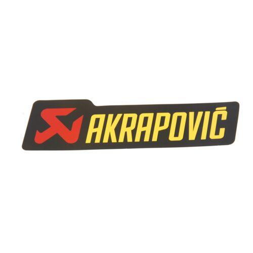 Akrapovic Street Auspuff Aufkleber Hitzefest Kawasaki ZX-7R 750 Ninja