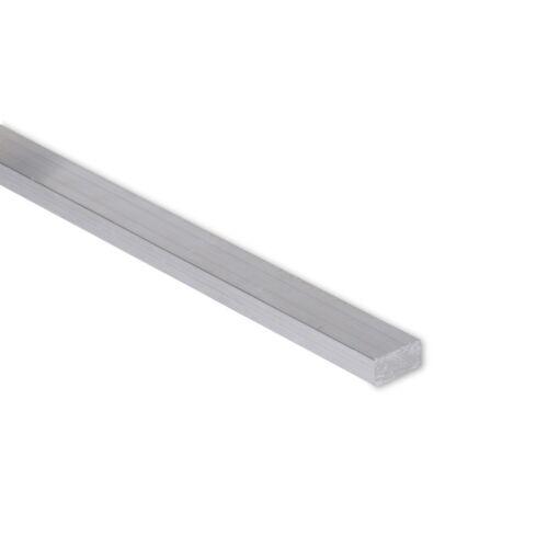 """T6511 Mill Stock 2/"""" Length 1//4/"""" x 1/"""" Aluminum Flat Bar 6061 Plate 0.25/"""""""
