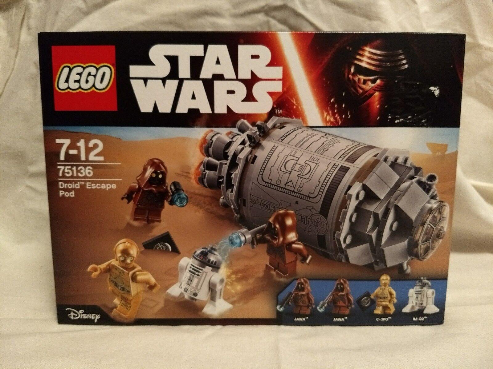 LEGO StarWars Droid Escape Pod (75136)