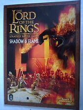 LORD OF THE RINGS STRATEGY BATTLE GAME / SHADOW & FLAME / GAMES WORKSHOP