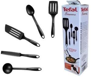 tefal bienvenue kitchen 5 pieces tool set high quality nylon cooking
