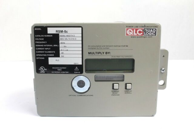 Quad Logic RSM-5c Commercial Digital Electric Meter