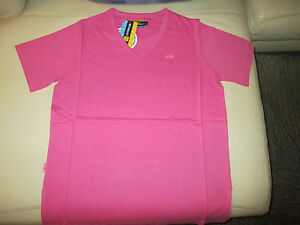 TSHIRT-100-COTON-RENAULT-F1-TEAM-COULEUR-ROSE-TAILLE-L-MANCHES-COURTES-NEUF