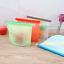Reusable-Silicone-Kitchen-Fresh-Zip-lock-Bag-Food-Freezer-Storage-Ziplock thumbnail 2