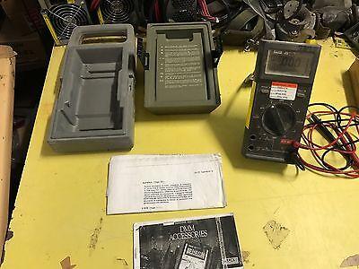 EX MOD Fluke 25 GP Handheld Multimeter Set, NSN - 6625-99-252-3606 GWO |  eBay