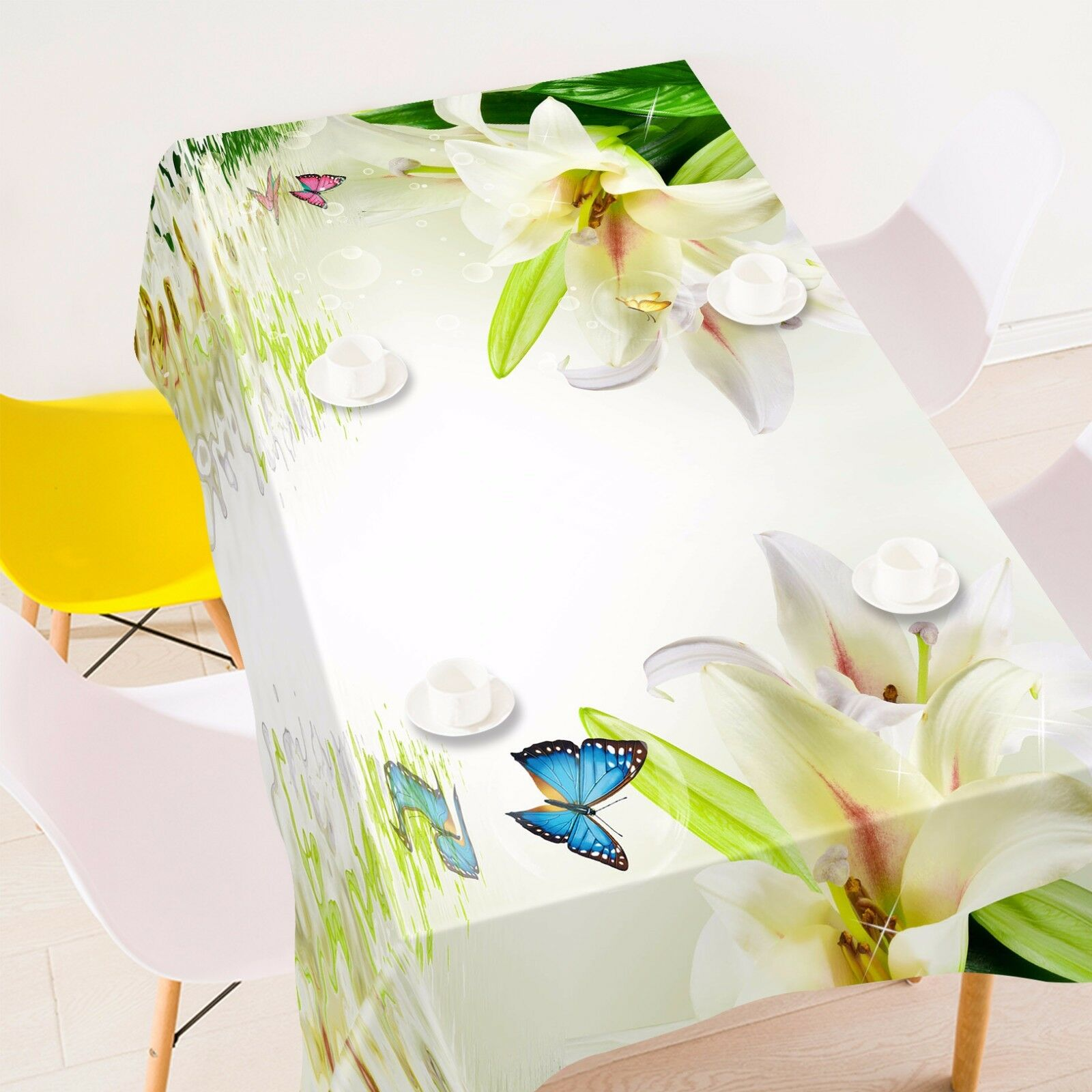 3D Lily  4412 Tablecloth Table Cover Cloth Birthday Party Event AJ WALLPAPER AU