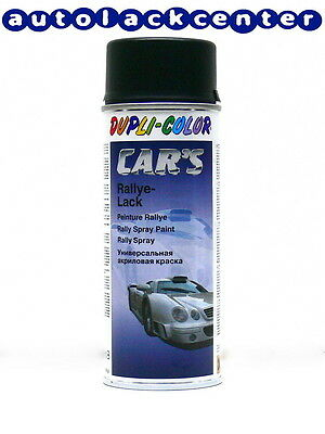 Schwarz seidenmatt /DUPLI-COLOR CARS Lackspray /DC652240