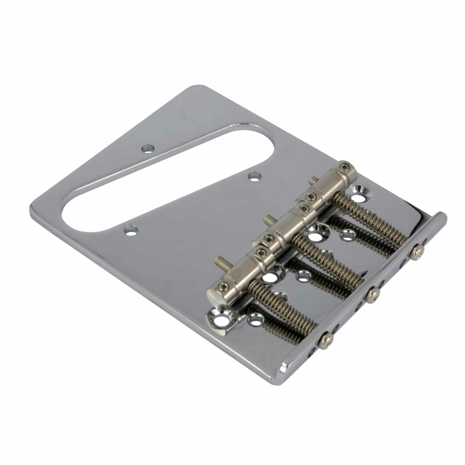 Cordier Tele Gotoh Ti-TC2 3x In-Tune Titanium Saddle Telecaster Replacemt Bridge