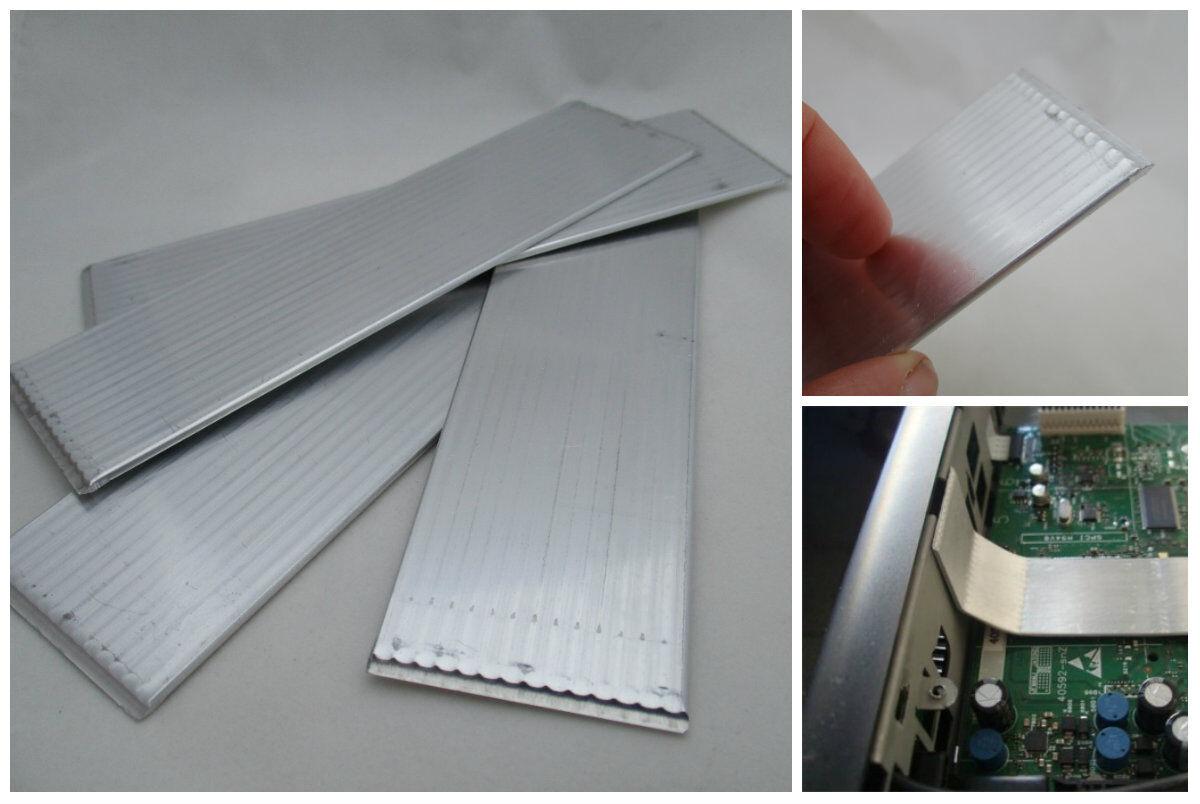 Large Flat Heat Pipe Plate 1 6 30 150 Bendy Aluminum