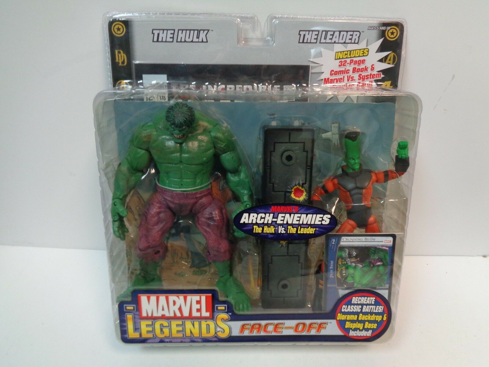 Arco De Marvel Legends-enemigos Hulk Hulk Hulk vs. el líder - 2018 Toy Biz c7cbe3