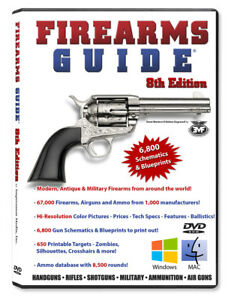 Details about Firearms Guide 8th Edition - gun guide and schematics on revolver schematics diagrams, shotgun schematics or diagrams, handgun schematics and how it works,