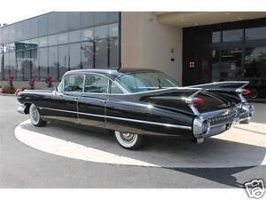 1959 cadillac sedan deville, black, refrigerator magnet, 40 mil   ebay
