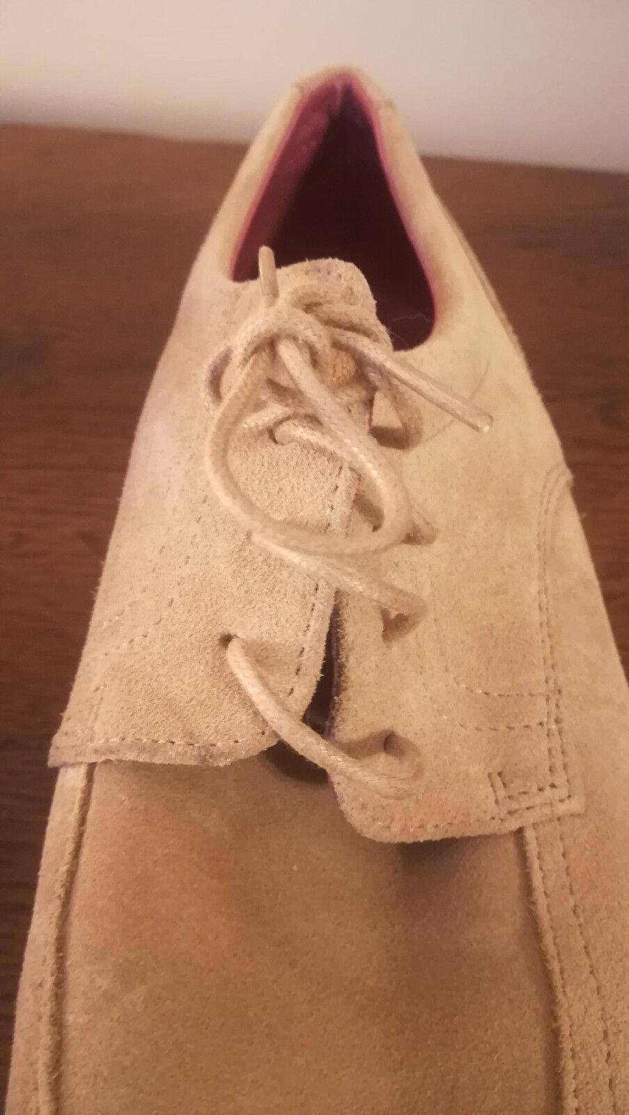 Zapatos HOMME - CUIR DAIM NUBUCK - BEIGE BEIGE BEIGE - TED LAPIDUS - POINTURE 44 8a97b7