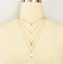 Boho-Women-Multi-layer-Long-Gold-Chain-Necklace-Crystal-Pearl-Pendant-Choker-NEW thumbnail 29