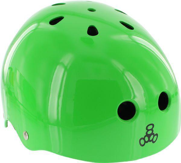 Triple 8 Lil 8 Helmet Neon Green Gloss Cpsc