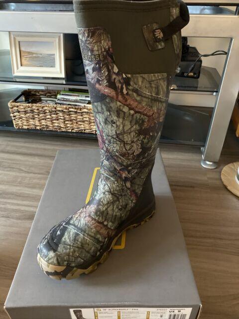 """LACROSSE 18"""" Alphaburly Pro Boot, Mossy Oak/Breakup Country, Size 9 (376027)"""