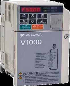 CIMR-VCBA0006BAA NEW Yaskawa inverter 1phase  out-3x230V 1,1kW 5A