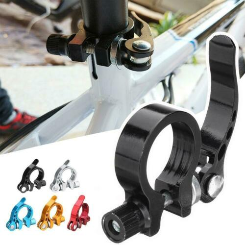 Bicycle Alloy Saddle Seat Clamp Road Bike Cycle Seatpost Decor Release P9T3