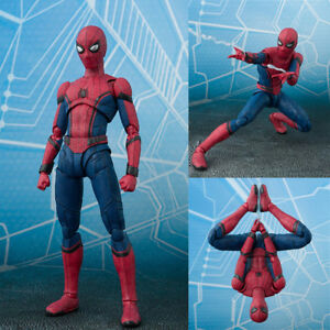SHF-S-H-Figuarts-Marvel-Spider-Man-Homecoming-Spiderman-Hero-Action-Figure-Toy
