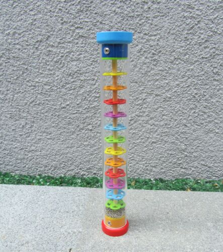 "Regenmacher Musikinstrument Regenstab Länge 34cm Ø 5,5cm /""Hohe Qualität/"" 61947"