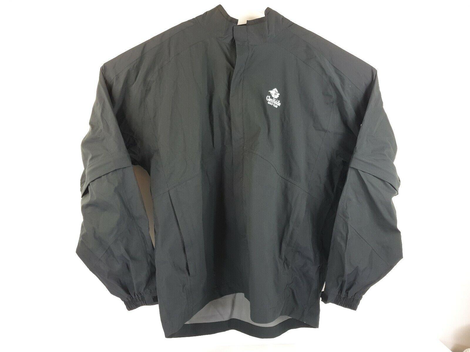 FOOTJOY DRYJOYS FJ HydroLite Rain Jacket Zip-Off Sleeves 2XL MSRP  185