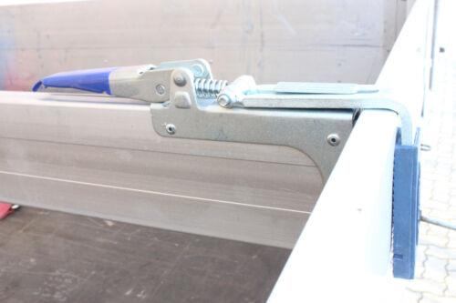 2x Parkvorrichtung 1x Spannbrett Zwischenwandverschluss Klemmbrett 1,80-2,10 m