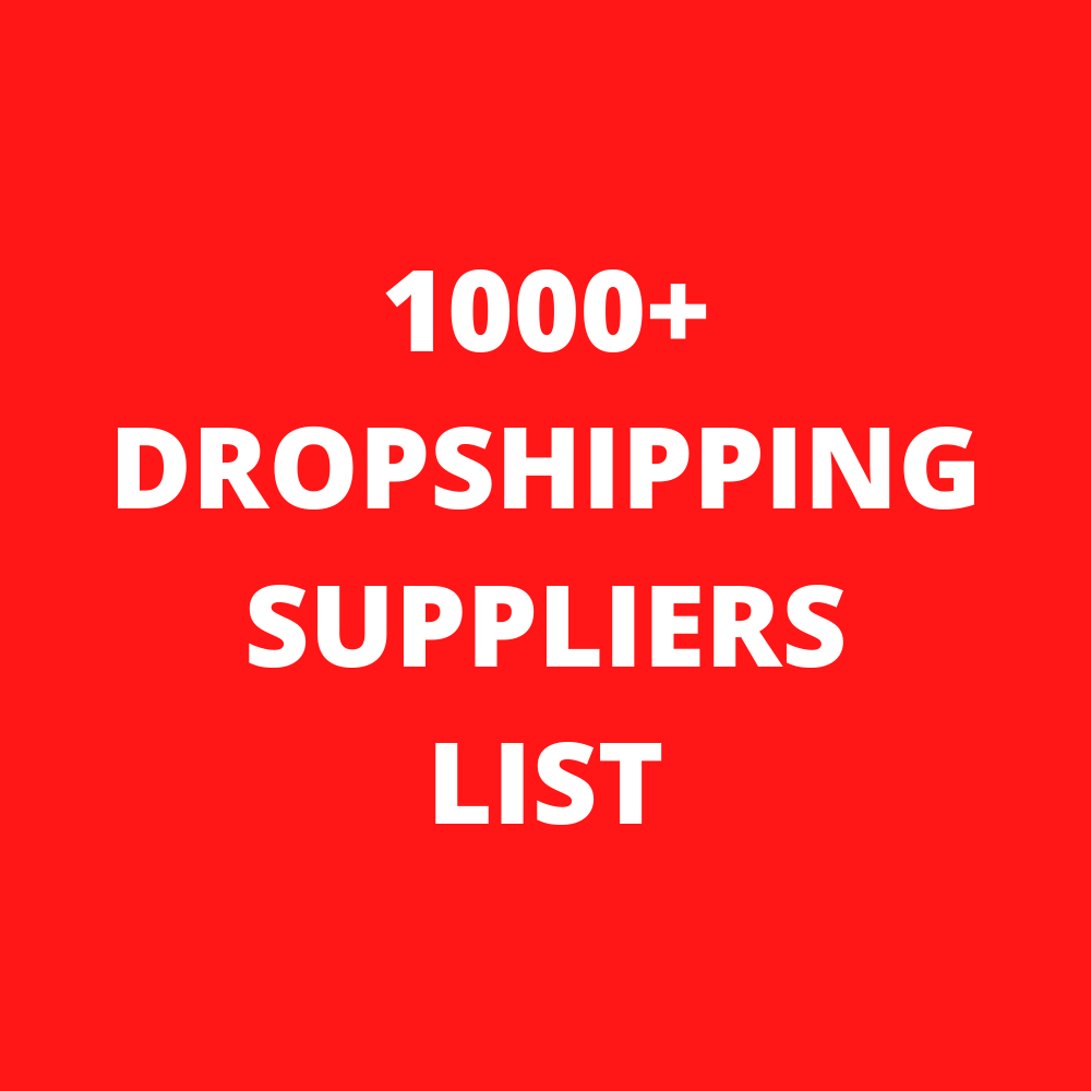1000+ Dropshipping Suppliers List ✅ ✅ Drop Shipping ✅ UPDATE 2021