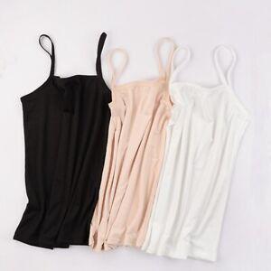 Women-039-s-Plain-Sleeveless-Ladies-Stretch-Strappy-Cami-Camisole-Vest-Tank-Top