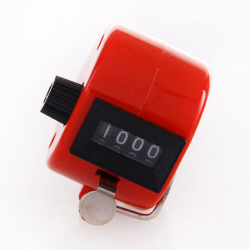 Sport Outdoor The Win Hand Held 4 Digit Number Tally Mechanical Clicker Counter