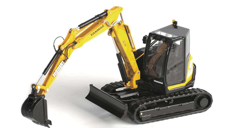 Ros 00150 132 escala Yanmar SV100 2PB Excavadora de orugas