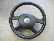 4-Speichen Lenkrad VW Polo 9N schwarz 6Q0419091G Airbag