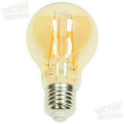 TCP LED Filament Bulb 6W BC Vintage