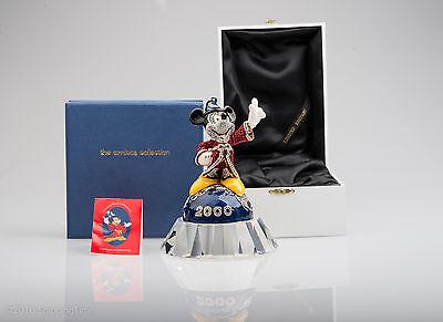 Swarovski Disney Jewelled Collection Arribas Mickey Sorcerer 2000 Millennium